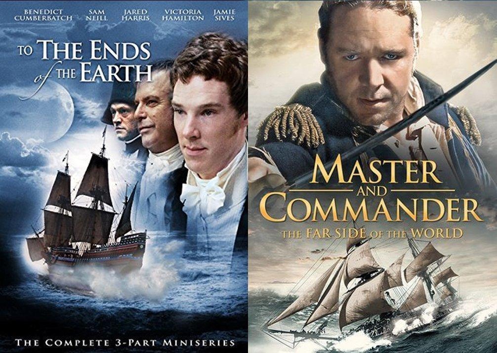 movies like master and commander