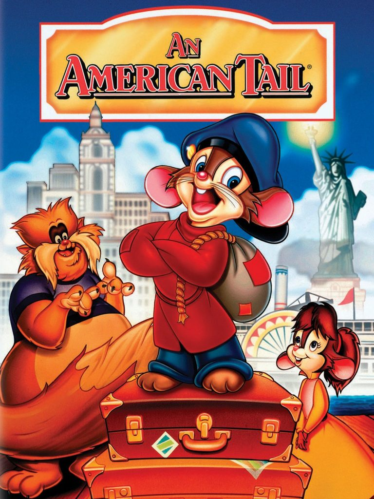 An American Tail Fievel Goes West 1991