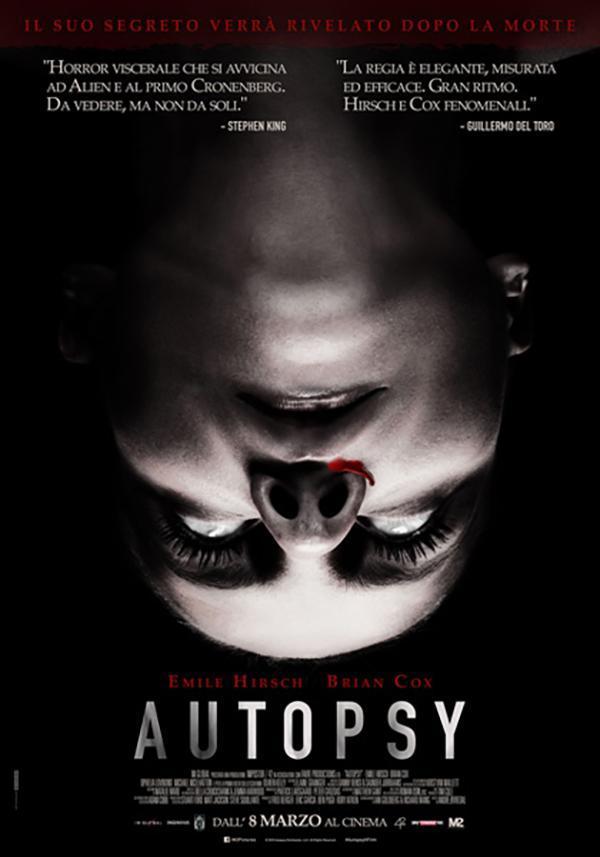 The Autopsy Of Jane Doe 2016