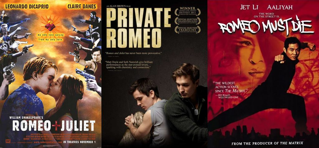 movies similar to romeo and juliet